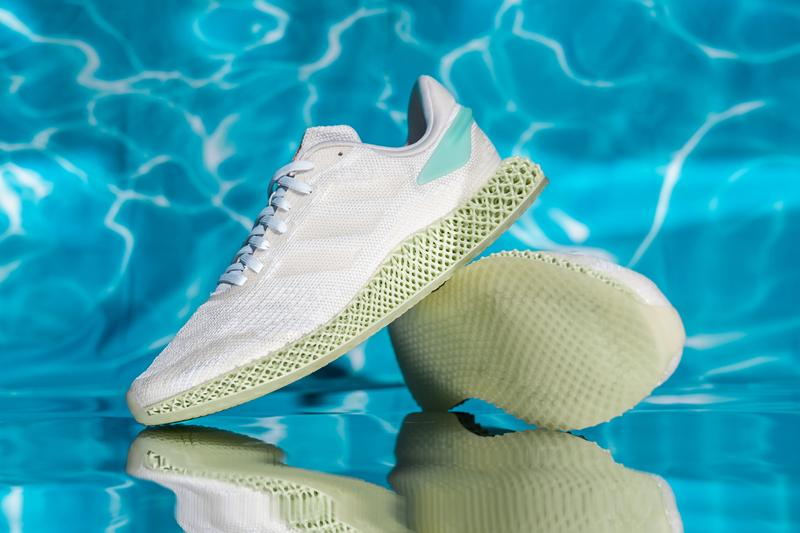 adidas 4d run 1 0 the big game parley futurecraft cloud white blue spirit aero green FV5323 super bowl release date info photos price