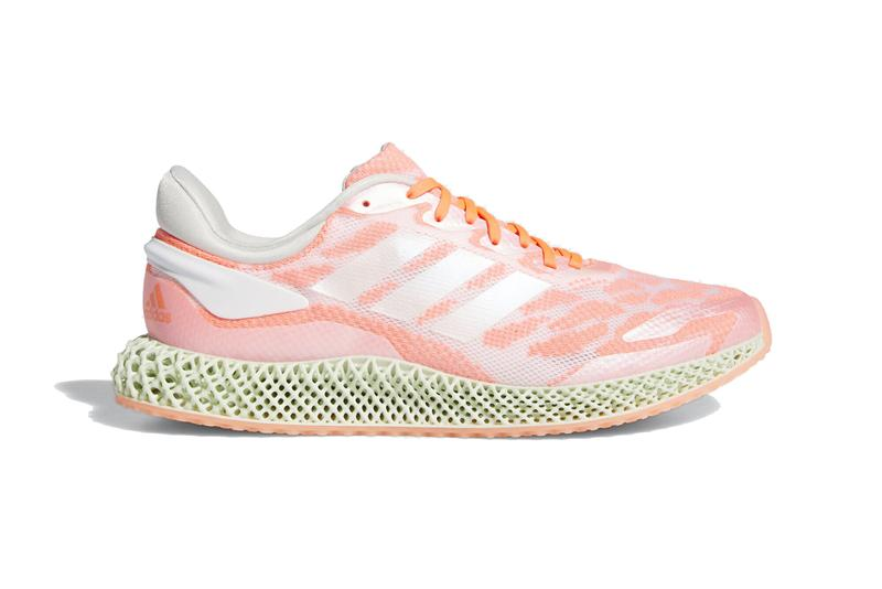 adidas 4d run 1 0 cloud white signal coral futurecraft mint green FW6838 release date info photos price
