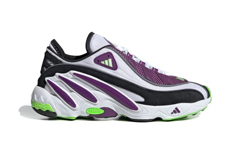 """adidas Revamps FYW 98 in Vivid """"Glory Purple/Solar Green"""" and """"Gray Two/Signal Coral"""""""