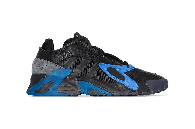 "adidas Originals Streetball ""Core Black/Blue/Carbon"" Release Information Cop Online Browns Retro Hoops Basketball Style '90s B-Ball Lightstrike midsole EE5924"