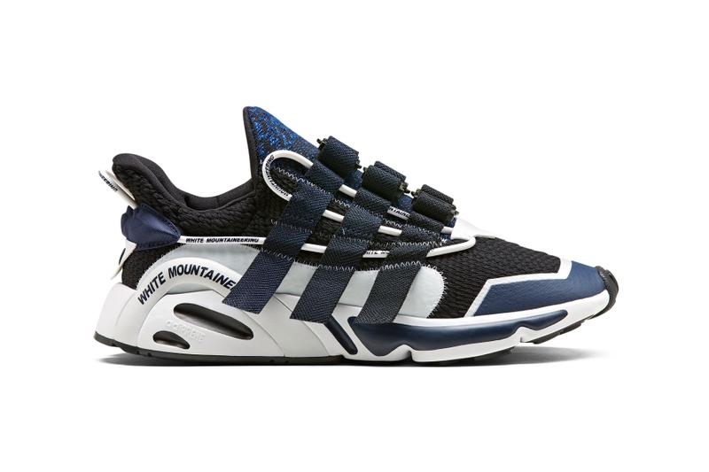 White Mountaineering x adidas Originals LXCON release information collaborations black white green
