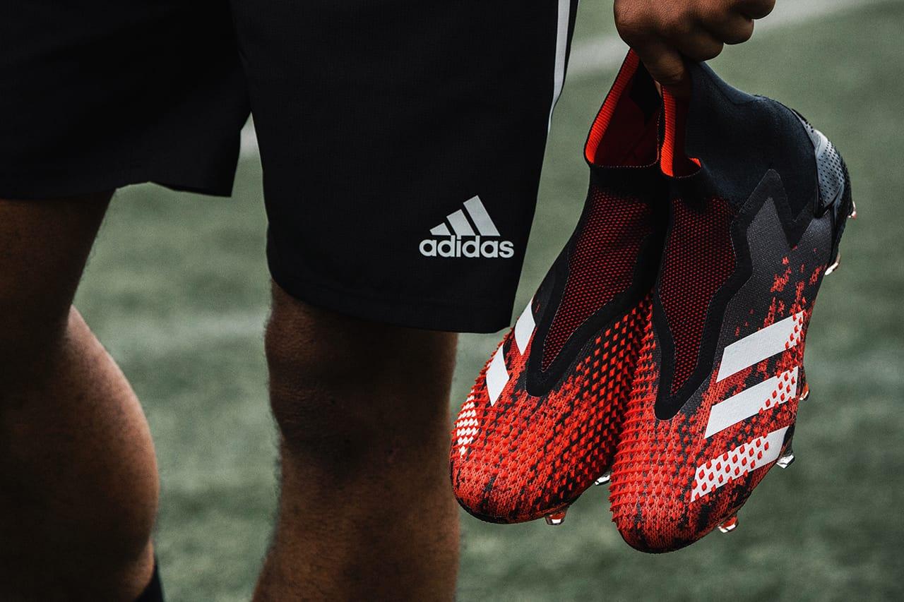 Buy adidas Red P3 Predator Laceless Junior u0026 Youth Football.