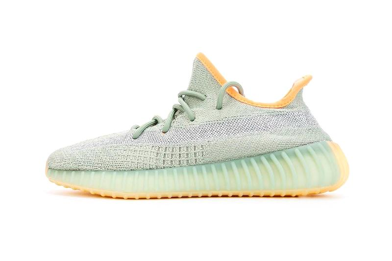 adidas YEEZY BOOST 350 V2 Desert Sage Closer On Foot Look Release Info Date Buy Price Kanye West