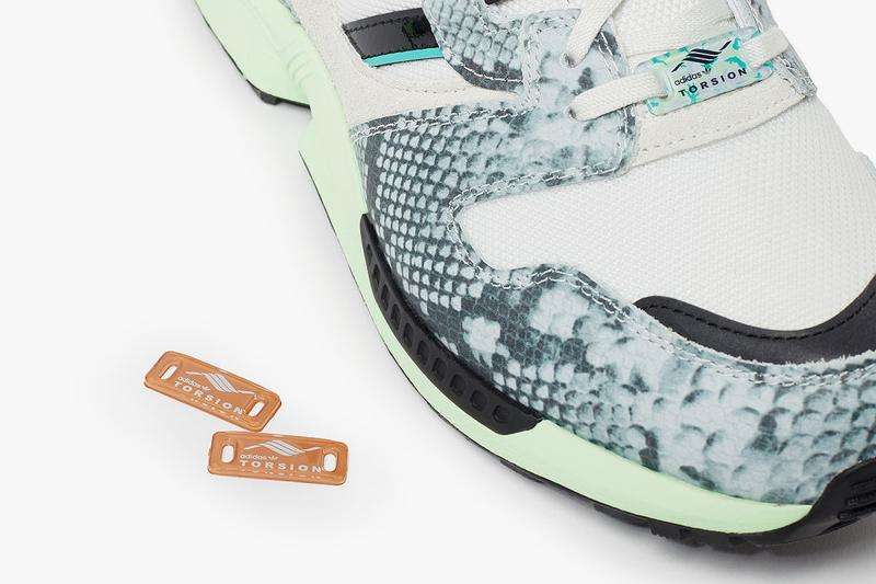 adidas zx 8000 lethal nights pack snakeskin white tint core black hi res aqua FW2152 release date info photos price