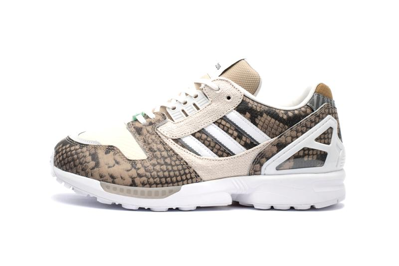 """adidas ZX 8000 """"Lethal Nights Pack"""" Release Information Snakeskin Leather Upper Brown Colorway Torsion EQT Three Stripes Germany Footwear Sneaker Kicks OG Classic Limited Edition"""