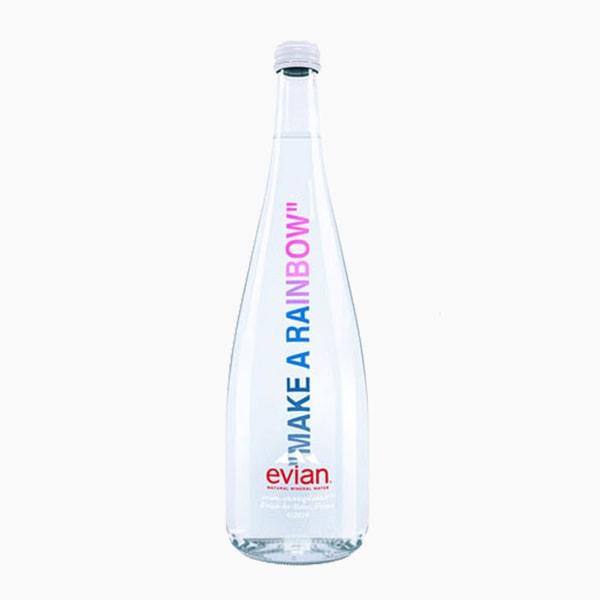 Virgil Abloh x Evian Water Bottle, Shoulder Bag, Box