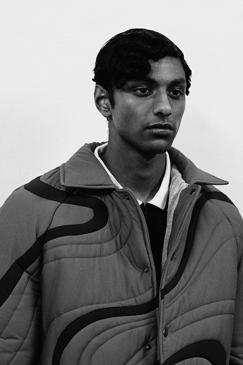 ahluwalia studio priya backstage fall winter 2020 adidas superstar clarks wallabee sustainable 60s 1965 Barbara Brown release information first look collection