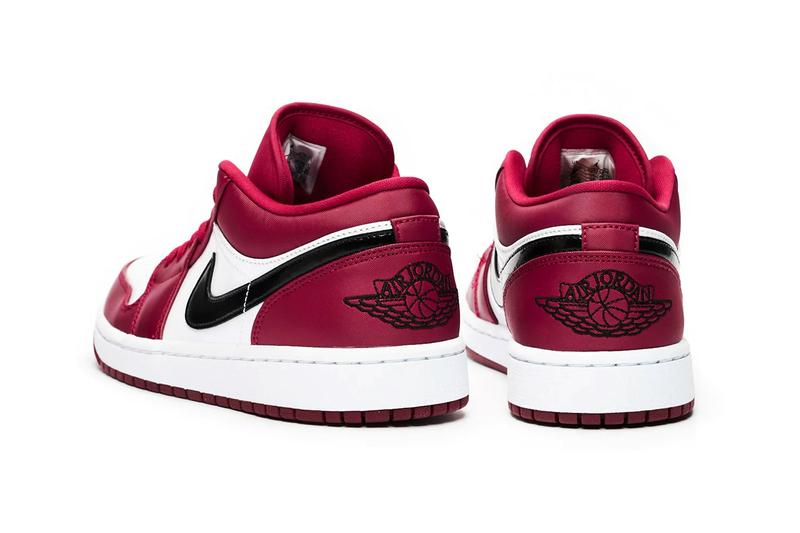 air jordan 1 low noble red white black 553558 604 release date info photos price