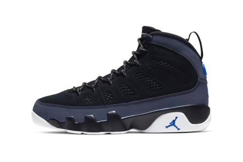 Air Jordan 9 Receives a Sleek Black & Smoke Grey Colorway