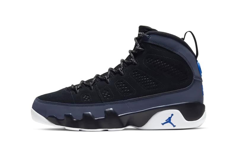 Air Jordan 9 Black/Smoke Grey Release Sneaker Where to buy Price 2020