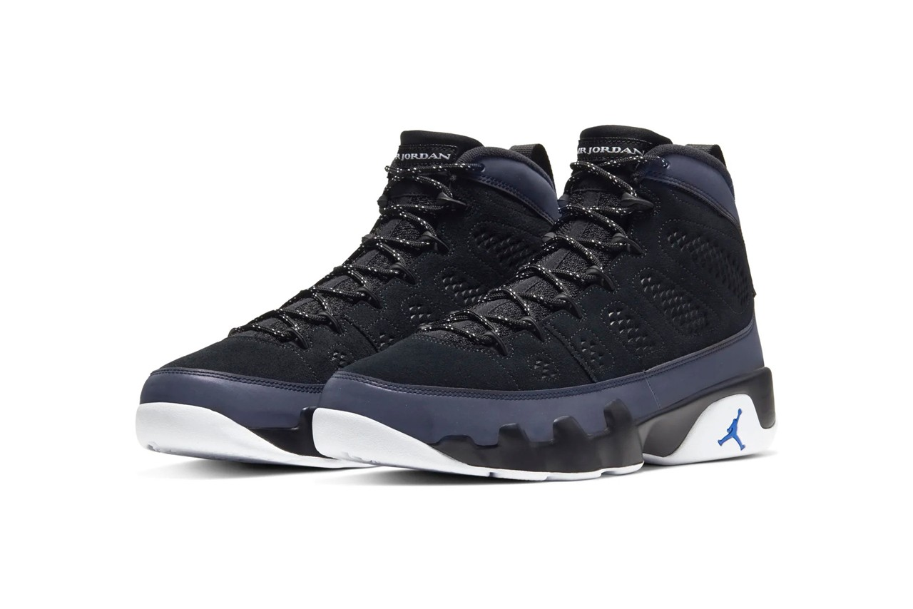 Air Jordan 9 Black/Smoke Grey Release