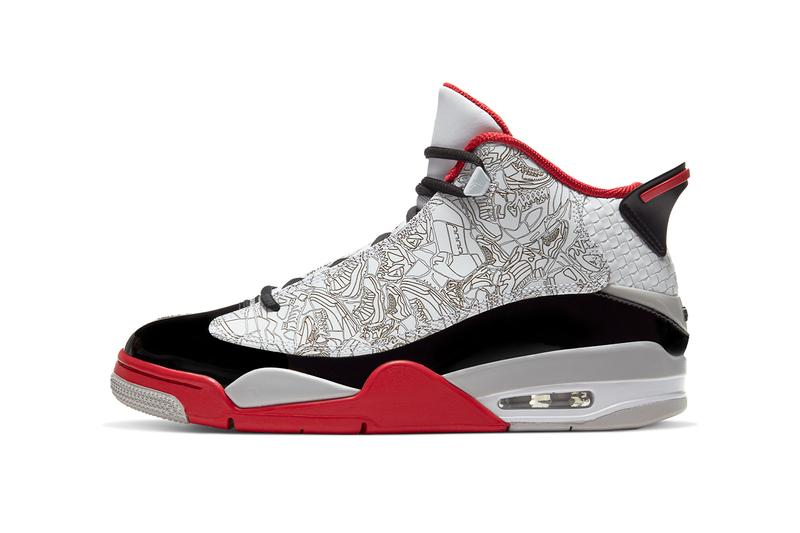 air jordan dub zero white varsity red neutral grey black 311046-116 release date info photos price