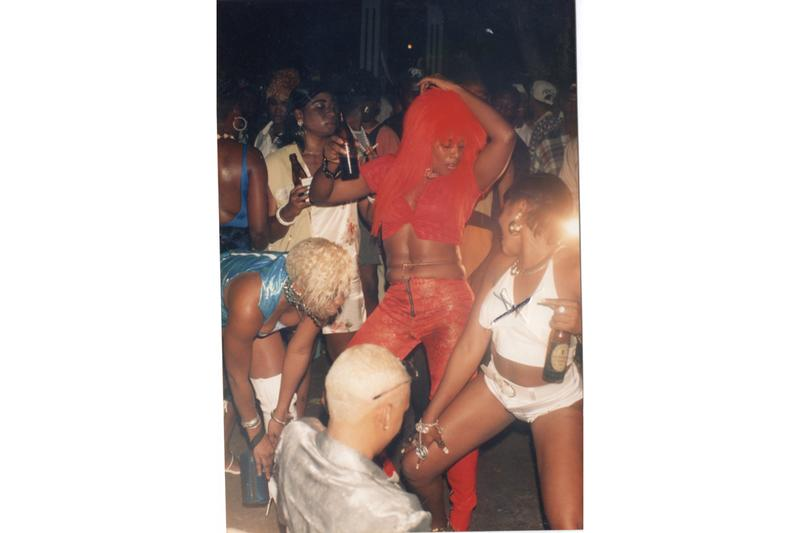 """Akeem Smith """"No Gyal Can Test"""" Exhibition Red Bull Arts New York Detroit Photography Archive VHS Tapes"""