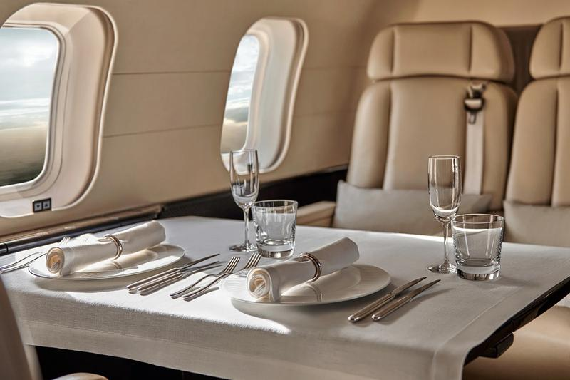 Aman Resorts International Private Aviation Service launch Bombardier Global 5000 jet set amenities services luxury 12 guests twelve seats flexible customs in flight wifi 21 desinations