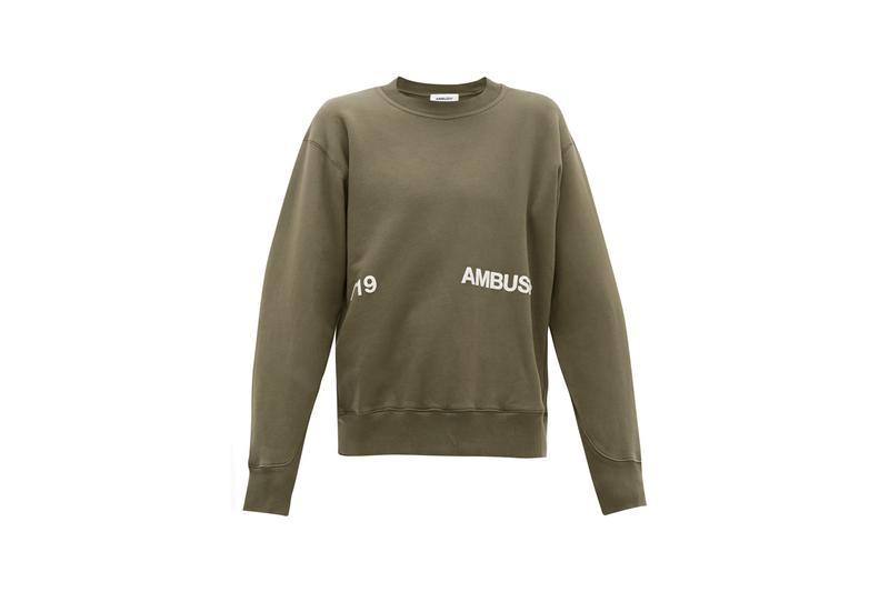 ambush spring summer 2020 collection exclusives matchesfashion matches fashion ombre cotton jersey sweatpants sweatshirt logo print tshirt fleece jacket yoon ahn verbal