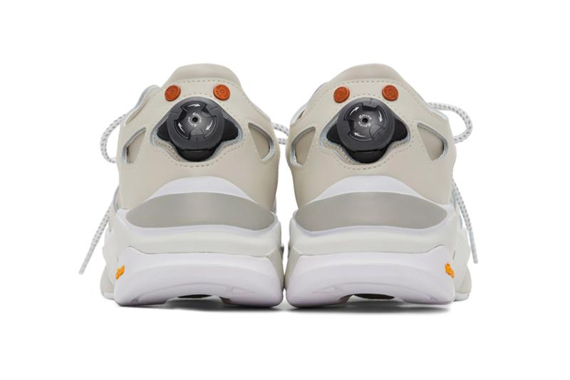 Andersson Bell White Runner Sneakers 201375M237016 Rollkin vibram footwear sneakers kicks trainers runners shoes technical fall winter 2020 collection made in south korea technical