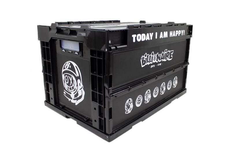 "André Saraiva x Billionaire Boys Club Storage Crate 'Mr. A' BBC Cosmonaut Box Design Collaboration Release Information USA Pharrell Williams ""Today I Am Happy!"""