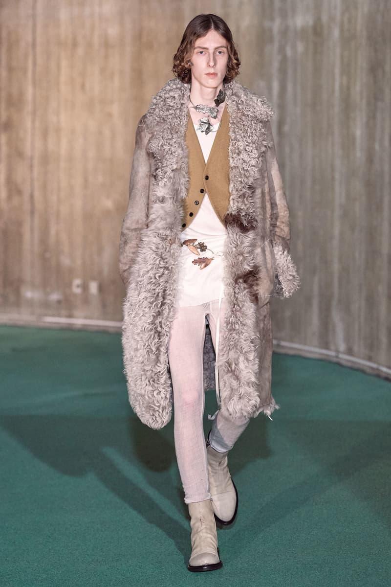 Ann Demeulemeester fall winter 2020 fw20 mens runway show collection paris fashion week
