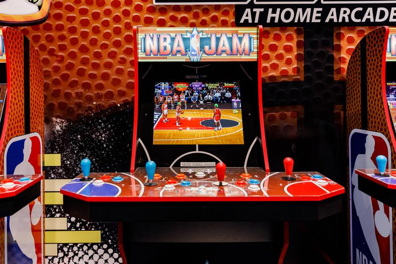 Arcade1Up WI-Fi NBA Jam Cabinets gaming CES 2020