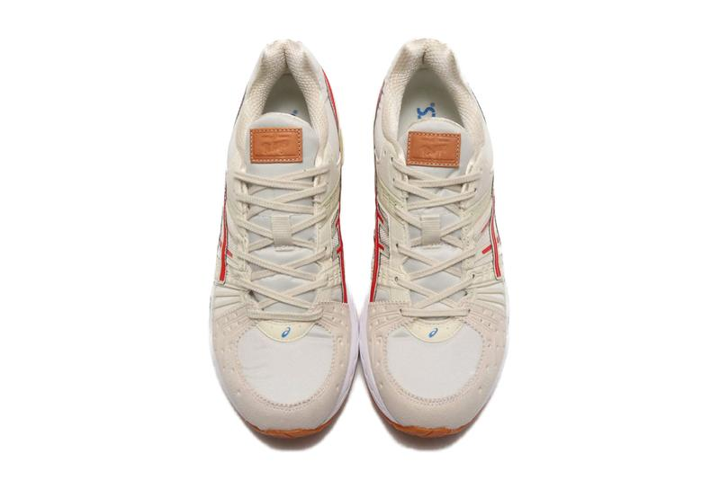 asics retro tokyo pack gel lyte 5 gel kinsei lyte cream red gum 1021a388 100 1191a333 100 1021a293 200