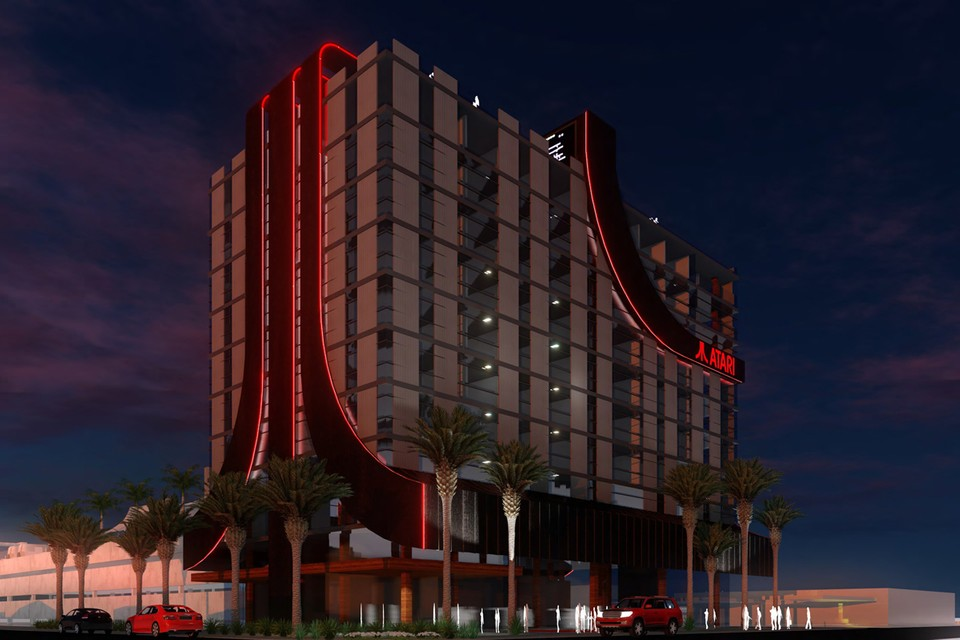 Atari Announces Video Game-Themed Atari Hotels