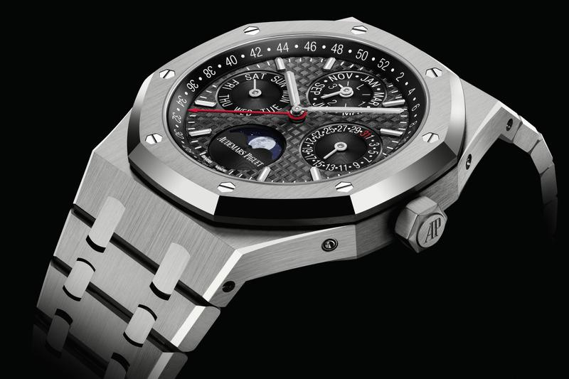 Audemars Piguet CNY Titanium Royal Oak Perpetual Calendar Watch AP Chinese New Year Lunar New Year watches horoloupe royal oak watches