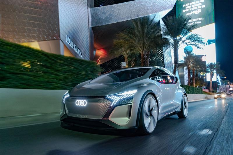 audi ai me autonomous driving car concept ces 2020 futuristic electric vehicle self driving