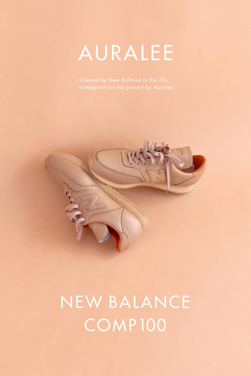 AURALEE x New Balance SS20 COMP100, Apparel collaboration collection spring summer 2020 japan sneaker wholegarment cotton knit pants sweater