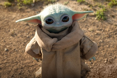 Official Life-Size Baby Yoda Figure From 'The Mandalorian' Is on the Way