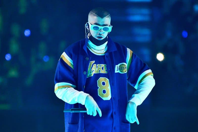 "Bad Bunny Honors Kobe Bryant with ""6 Rings"" Song Listen RIP Kobe Black Mamba Puerto Rico Los Angeles Lakers Basketball Rest In Peace Gigi"