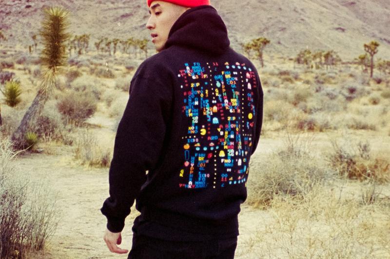 bandai namco pac man bait glitch capsule streetwear