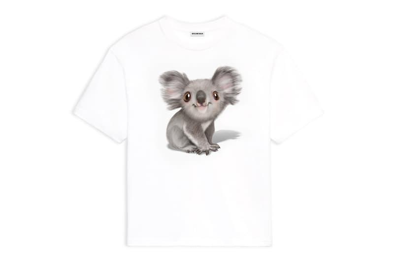 Balenciaga Australia Bushfire Disaster Koala Hoodie T shirt Release Info Buy Price Kering