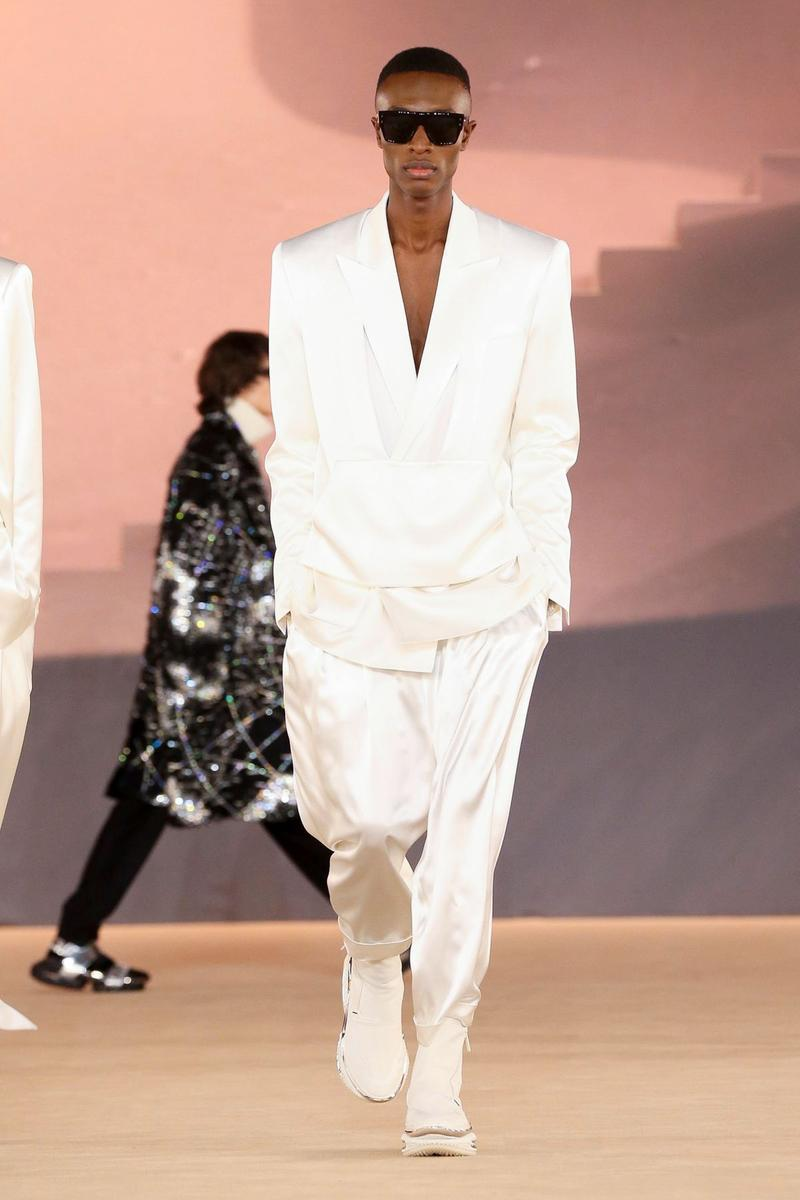 Balmain Menswear Fall Winter 2020 Paris Fashion Week olivier rousteing