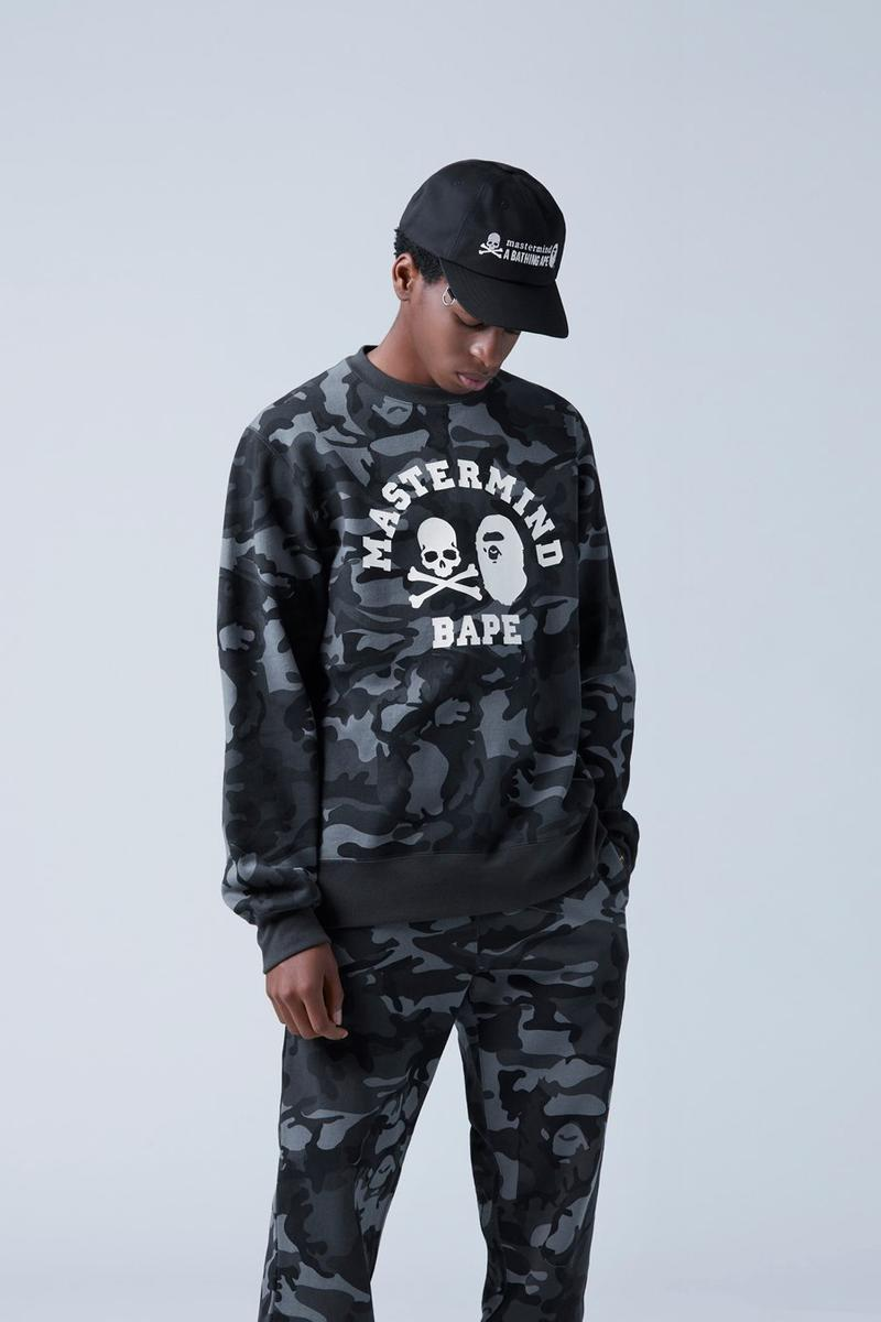 mastermind vs A BATHING APE SS20 New Items BAPE collaborations