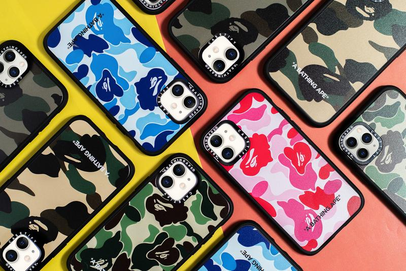 BAPE CASETiFY 1st CAMO ABC CAMO Apple iPhone Cases Release info 11 Buy Price Co Lab