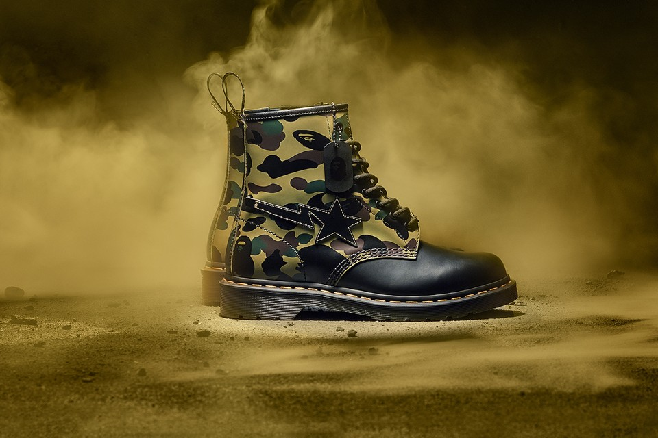 Dr. Martens Launches 1460 Remastered Project With BAPE Collaboration