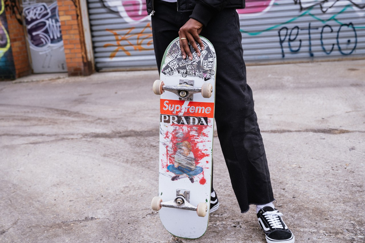 Beatrice Domond Skateboarder Streetsnaps Style supreme team fucking awesome interview