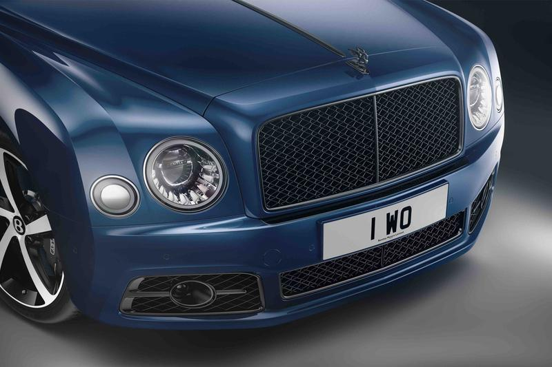 Bentley luxury sedan british automaker car manufacturer mulsanne 6 75 special edition limited