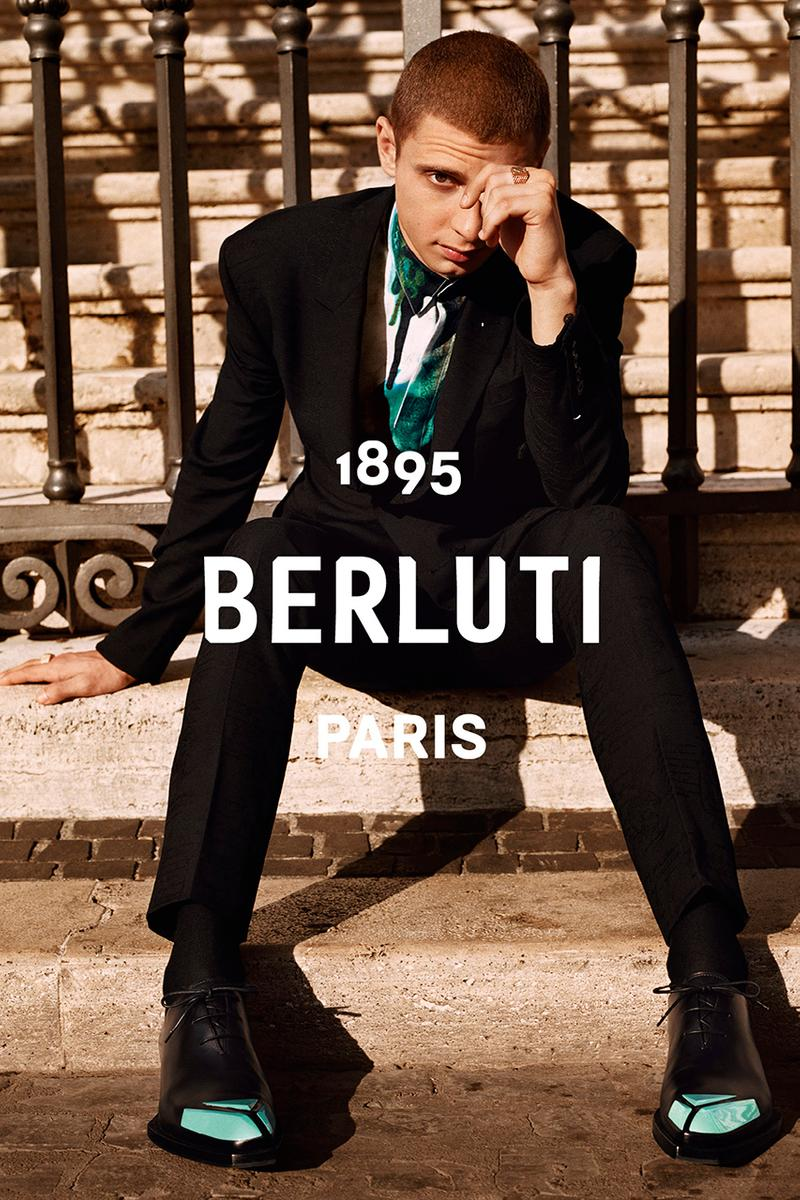 Berluti Spring/Summer 2020 Campaign Starring Blondey McCoy Imagery Alasdair McLellan SS20 Menswear British-Lebanese skateboarder Designer Kris Van Assche Rome