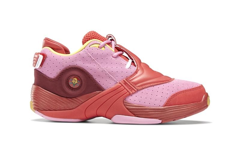 "Billionaire Boys Club BBC ICECREAM x Reebok Answer V MU ""CHERRY TOMATO / POSH PINK / STINGER YELLOW"""