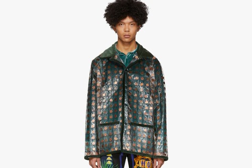 Bode's PVC Jacket Features Hundreds of Individually-Quilted Pennies