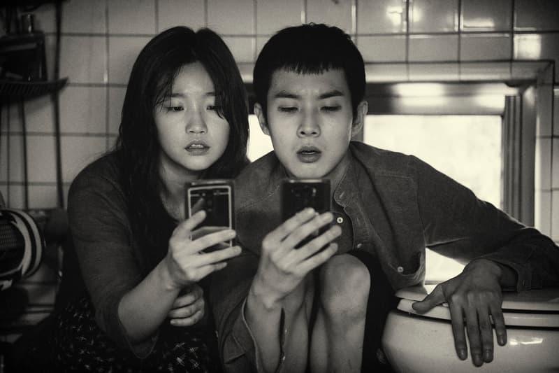 Bong Joon-ho Parasite Black White Version united states Release Date neon