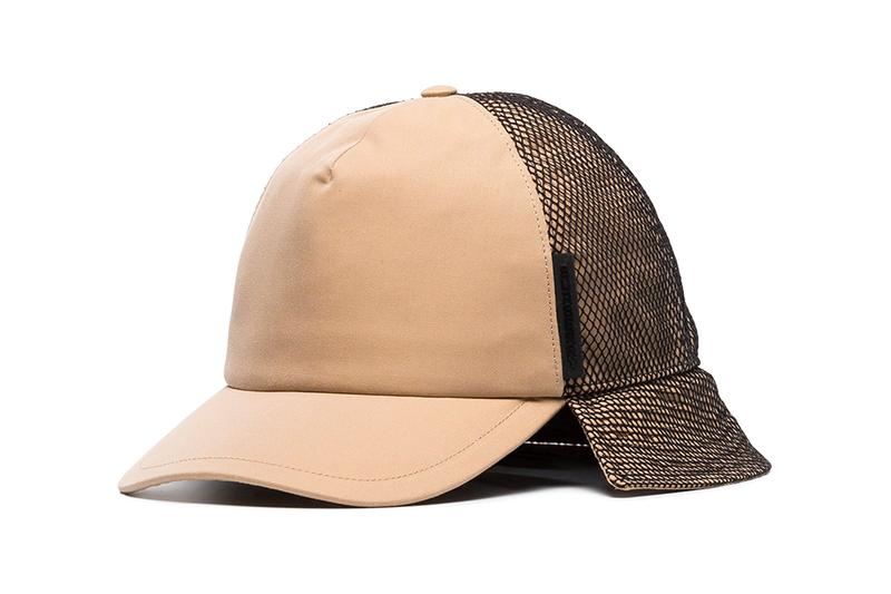 Burberry Brown Trucker Flap Hat Release browns fashion info