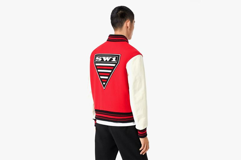 Burberry Contrast Sleeve Monogram Motif Wool Bomber Jacket Release harrods