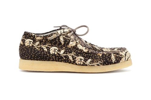 By Walid Stitches Antique Italian Textiles onto Inno Mocassins