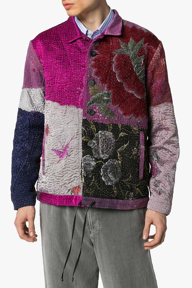 By Walid Jono Patchwork Bomber Jacket Release Where to buy Price 2020