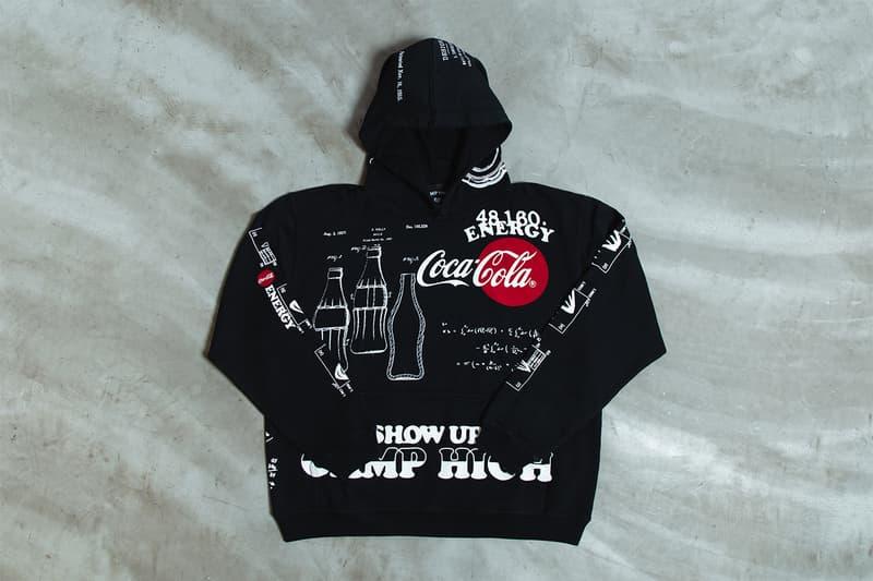 Camp High x Coca-Cola Sweatpants Hoodie Info Greg Dacyshyn Greg Johnsen loungewear comfort energy drinks coke