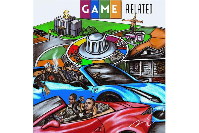 Cardo Releases 'Game Related' Album Stream Now West Coast Producer Texas Austin Bay Area San Francisco Payroll Giovanni Larry June Street Gangster HipHop Stream Listen