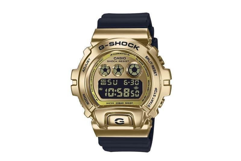 Casio G-SHOCK GM-6900 Metal Bezel Release Info GM6900 Third Eye 25th Anniversary Collaboration HYPEBEAST timepiece wristwatch watch