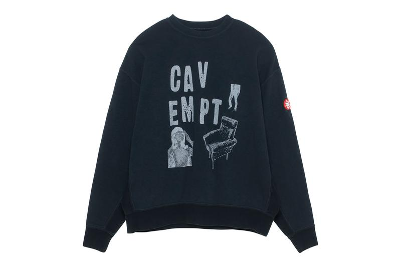 Cav Empt Spring/Summer 2020 Collection Drop 2  CASUALE BOMBER JACKET SOURCE-OUTPUT QUILTED ZIP JACKET OVERDYE CHAIR CREW NECK TAPED LIGHT HOODY PUBLIC WARM COAT toby feltwell drop info release  1994 BLEACHED COLOUR DENIM NAVY MD LastScatter LONG SLEEVE T